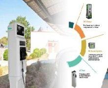 проект станцїї зарядки електромобілей